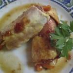 חזה עוף ממולא בשר